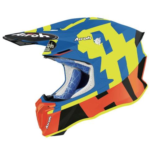 Airoh Motocross Helmet Twist 2.0 Azure Matt