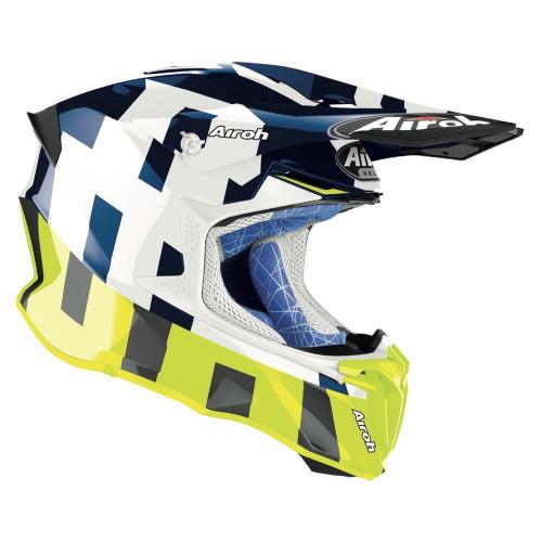 Airoh Motocross Helmet Twist 2.0 Frame Blue