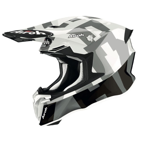 Airoh Motocross Helmet Twist 2.0 Frame Grey Matt