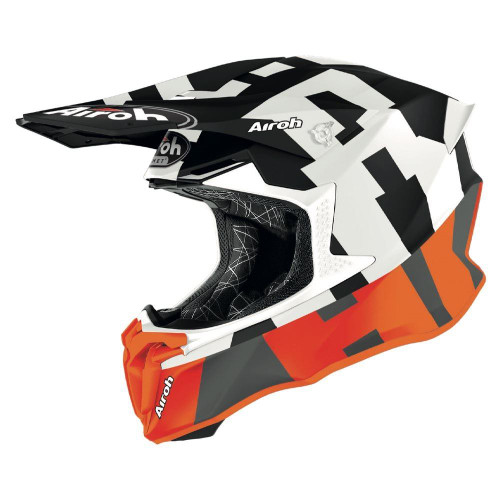 Airoh Motocross Helmet Twist 2.0 Frame Orange