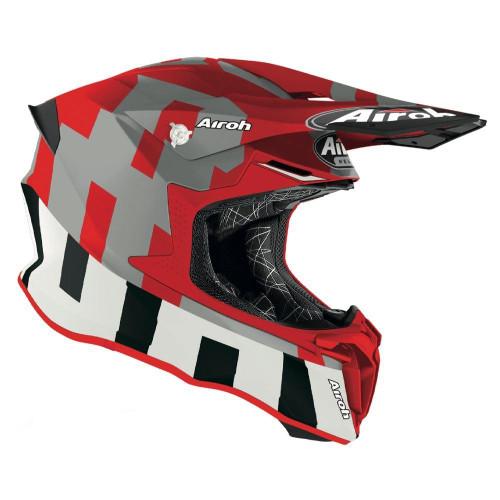 Airoh Motocross Helmet Twist 2.0 Frame Red