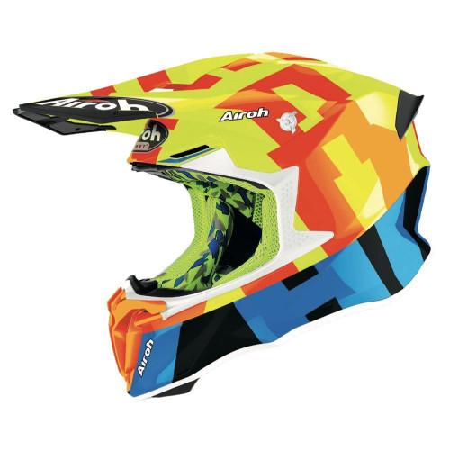 Airoh Motocross Helmet Twist 2.0 Frame Yellow