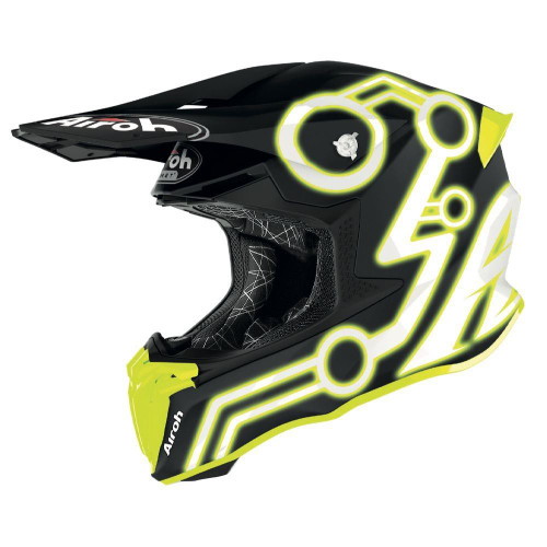 Airoh Motocross Helmet Twist 2.0 Neon Yellow