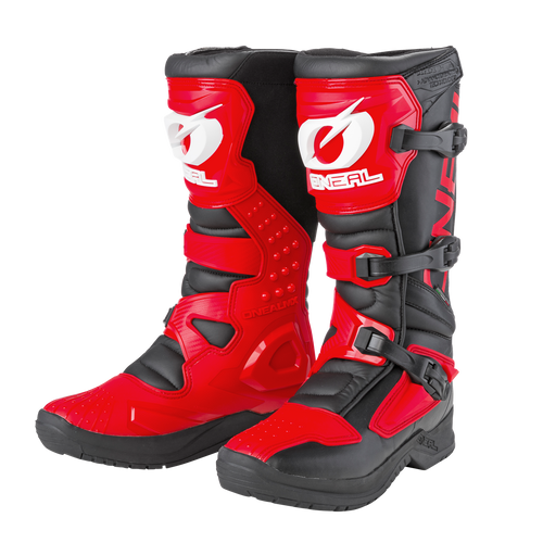 O'Neal Motocross Boots RSX Black/Red