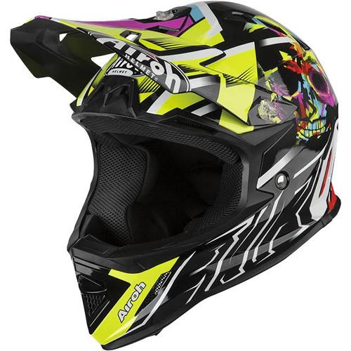Airoh Archer Junior MX Helmet Mistery Yellow