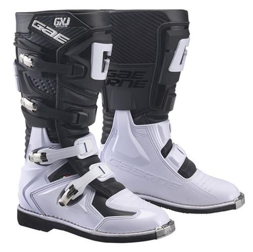 Gaerne Motocross Boots GX-J Black/White