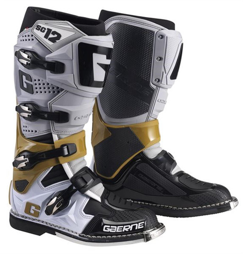 Gaerne Motocross Boots SG12 Grey/Magnesium/White 2020