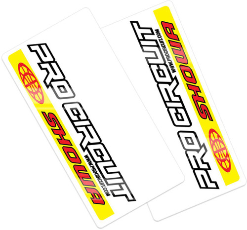 Pro Circuit WORKS Showa Fork decals