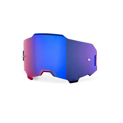 100% Armega HiPER Replacement Lens Blue Mirror