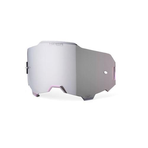 100% Armega HiPER Replacement Lens Silver Mirror