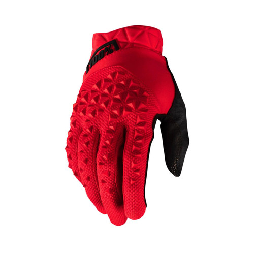 100% Geomatic Adult Gloves Red