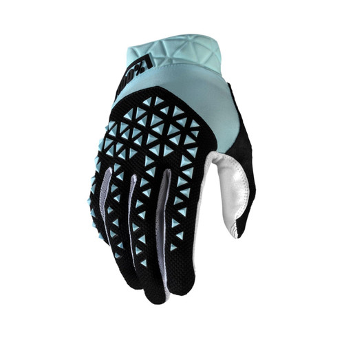 100% Geomatic Adult Gloves Sky Blue