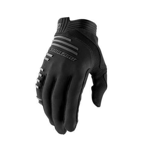 100% R-Core Adult Gloves Black