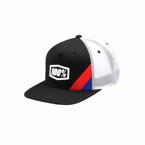 100% Cornerstone Trucker Hat Black Adult