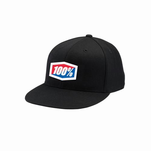 100% Flexfit Hat J-Fit Adult Black