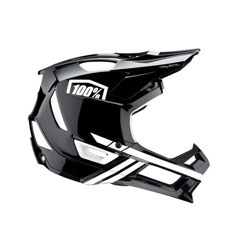 100% MTB Helmet Trajecta Black/White