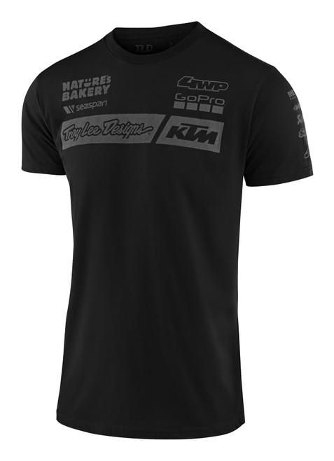 Troy Lee Designs TLD KTM 20 Adult Factory T-Shirt Black