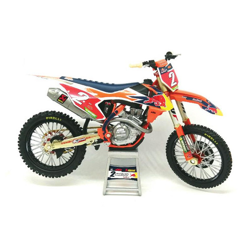 New Ray Cooper Webb Red Bull KTM 450 SX-F Motocross Collectable 1:12 Toy Model Bike