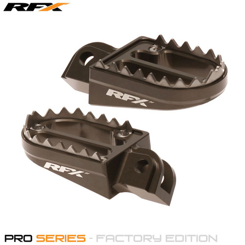RFX Pro Series 2 Footrests (Hard Anodised) KTM SX 85-105 03-17