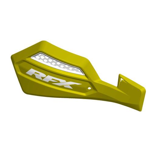 RFX 1 Series Handguard (Yellow/White) Inc Fitting Kit