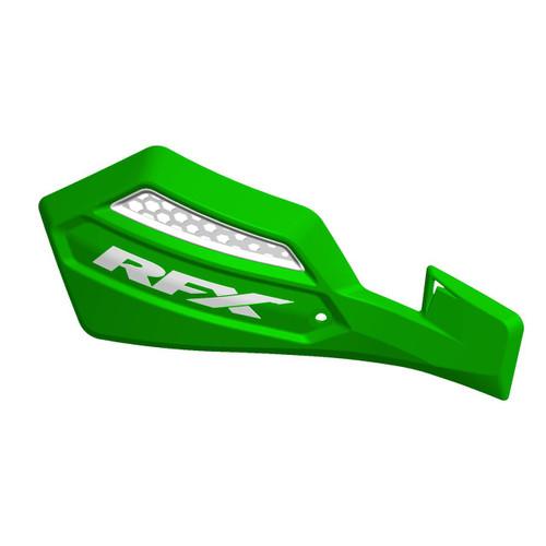 RFX 1 Series Handguard (Green/White) Inc Fitting Kit