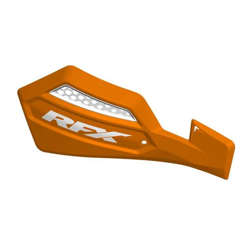 RFX 1 Series Handguard (Orange/White) Inc Fitting Kit