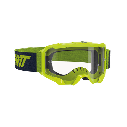 LEATT GOGGLE VELOCITY 4.5 NEON LIME - CLEAR LENS 8020001125