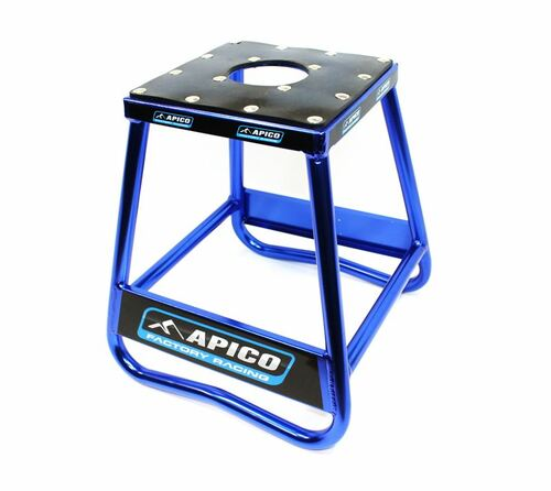 Apico Stands 96513 BIKE STAND STATIC BOX TYPE ALLOY (BLUE)