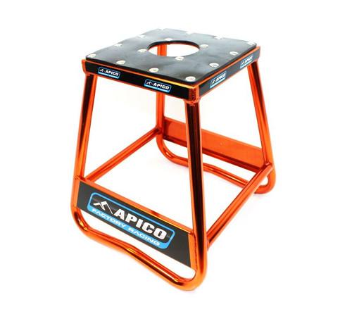 Apico Stands 96514 BIKE STAND STATIC BOX TYPE ALLOY (ORANGE)
