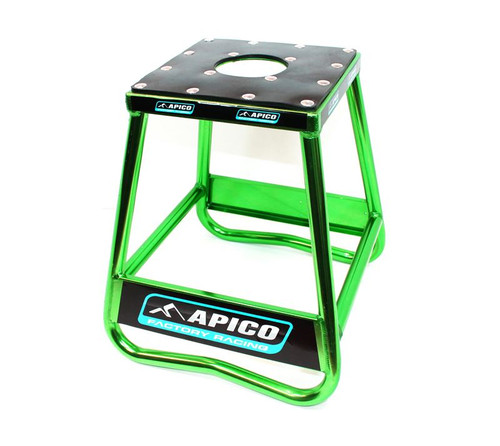Apico Stands 96516 BIKE STAND STATIC BOX TYPE ALLOY (GREEN)