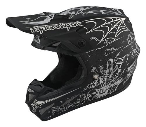 TLD MX Helmet SE4 Carbon 20 LE Stranded Black