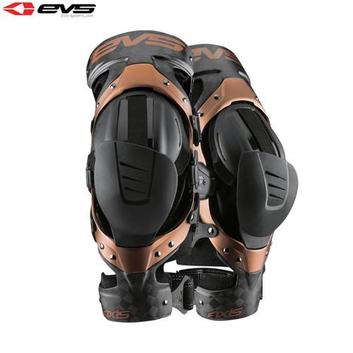 EVS Knee Brace Axis Pro Black/Copper Pair