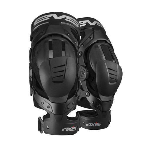 EVS Knee Brace Axis Sport Black Pair