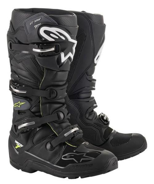 Alpinestars Motocross Boots Tech 7 Enduro Drystar Black/Grey