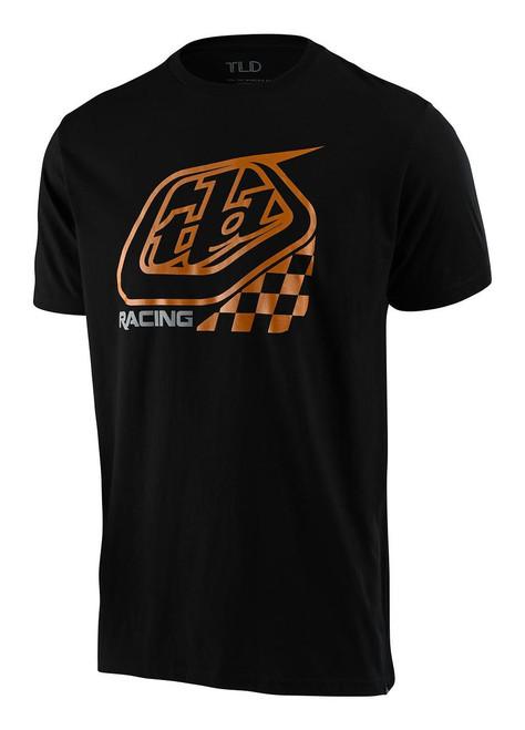 TLD Men's T-Shirt Precision 2.0 Checker Black