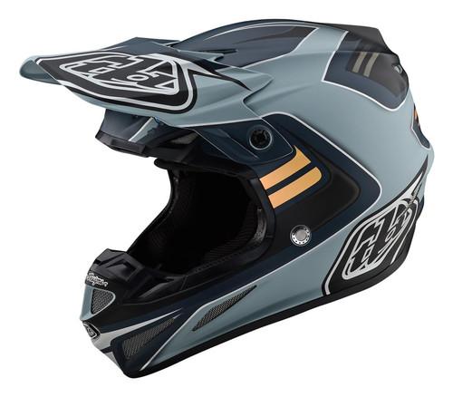 TLD MX Helmet 2020 SE4 Composite Flash Grey/Silver