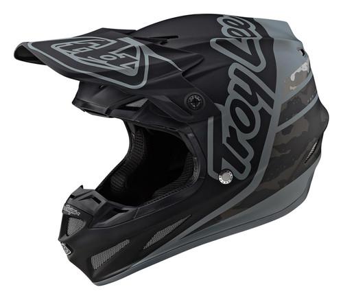 TLD MX Helmet 2020 SE4 Composite Silhouette Black/Camo