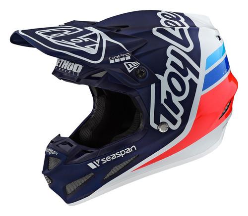 TLD MX Helmet 2020 SE4 Composite Silhoutte Team Navy