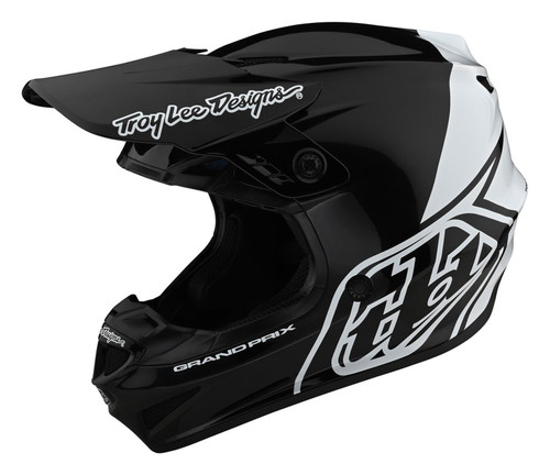 TLD MX Helmet 2020 GP Block Black/White