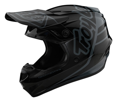 TLD MX Helmet 2020 GP Silhouette Black/Grey
