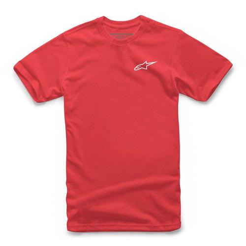 Alpinestars Men's T-Shirts Neu Ageless Red/White