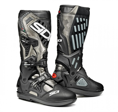 SIDI ATOJO SRS LEAD GREY/BLACK BOOTS