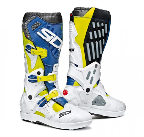 SIDI ATOJO SRS YELLOW FLUO/WHITE/BLUE BOOTS