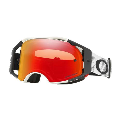 Oakley Airbrake MX Goggle (Matte White Speed) Prizm MX Torch Iridium Lens