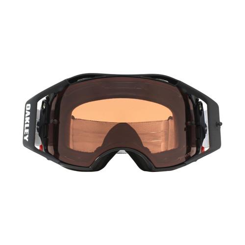 Oakley Airbrake MX Goggle (Jet Black Speed) Prizm Bronze Lens