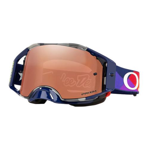 Oakley Airbrake TLD Collection SS19.1 MX Goggle (Jet Pattern) Prizm Black Irdium Lens
