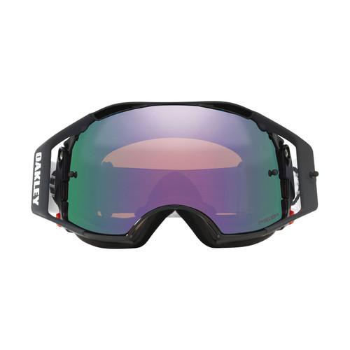 Oakley Airbrake MX Goggle (Jet Black Speed) Prizm Jade Irdium Lens
