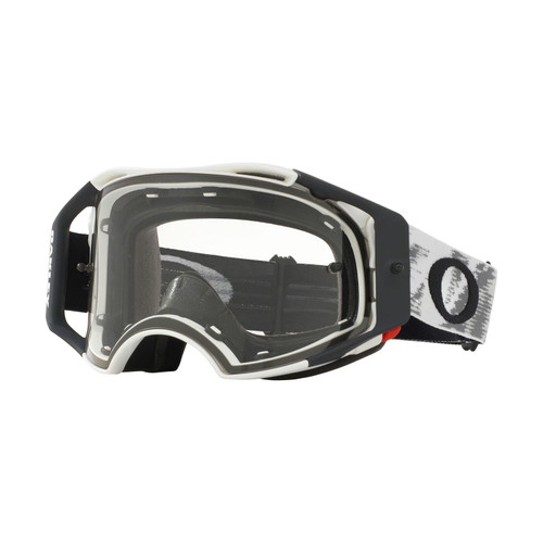 Oakley Airbrake MX Goggle (Matte White Speed) Clear Lens