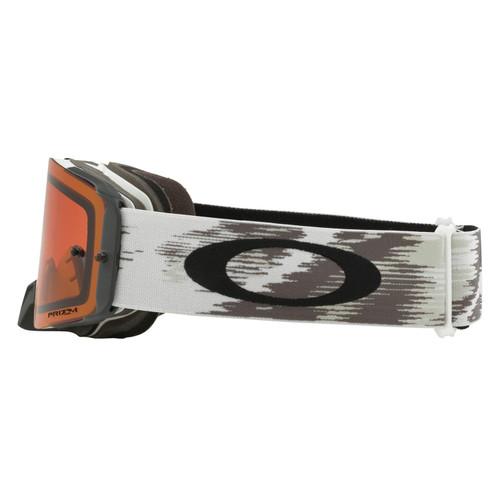 Oakley Front Line MX Goggle (Matte White Speed) Prizm Bronze Lens