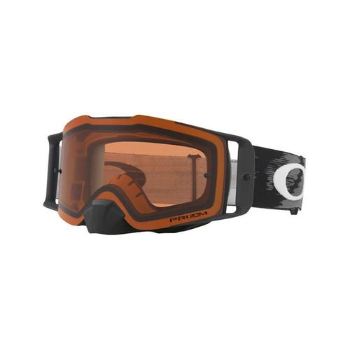 Oakley Front Line MX Goggle (Matte Black Speed) Prizm Bronze Lens